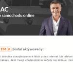 Mubi 150 zł zwrotu – opinie. Porównywarka OC + kod na zwrot 150 zł + maksymalnie 2000 zł