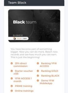 yourfitway black team