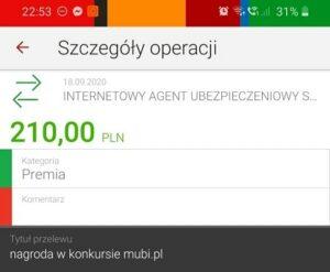 Mubi 150 zł bonus