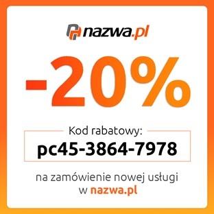 nazwa pl kod rabatowy -20%